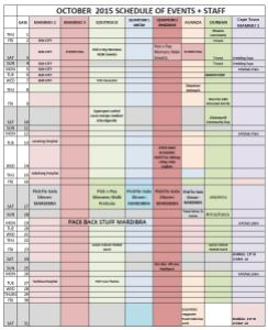 Mammogram Truck Schedule