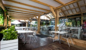 Peregrine Cafe Outside Seating